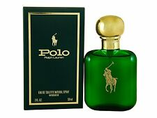 Polo Cologne for Men by Ralph Lauren Eau de Toilette Spray 2.0 oz - New in Box