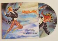 "MARILLION : FREAKS + WHITE FEATHER... (4 x LIVE) ♦ CD Single Réplica EP 12"" ♦"
