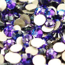 20 STRASS Cristal SWAROVSKI Violet Heliotrope 1,8 mm Nail Art bioux d'ongles