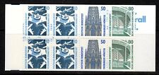Germany - 1989 Definitives views Mi. MH 25a mZ booklet MNH