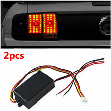 2 Pcs 3-step Sequential Module Boxes for Car Headlights/Rear lights Signal Turn