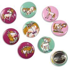 Mini Buttons Einhorn, 8er Pck