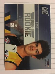 2011 Select AFL Infinity Draft Rookie Card Scott Lycett West Coast Eagles #230