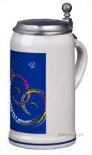 2009 Munich Oktoberfest Stein with Pewter Lid - 1 Liter - Mugs Stocked in USA