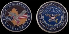 OPERATION DESERT STORM COLLECTIBLE CHALLENGE COIN COINS NEW