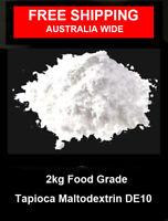 2kg of  Tapioca Maltodextrin DE 10 – Vegan , Gluten Free
