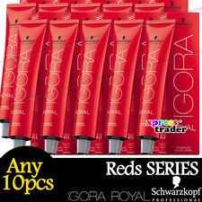 Any 10pcs Schwarzkopf IGORA ROYAL Permanent Colour Hair Dye Reds Series 60g