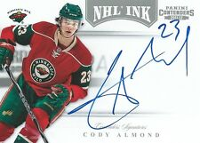 (HCW) 2011-12 Panini Contenders NHL Ink CODY ALMOND Auto Signatures 00213