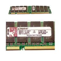 SDRAM DIMM 256 MB 133MHz Kingston KTM3071/256 Memoria Ram memory