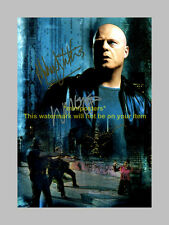 """THE SHIELD CAST X3 PP SIGNED POSTER 12""""X8"""" Chiklis"""