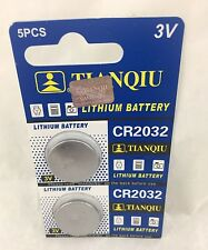 2  CR2032 3V Lithium Coin Battery Exp 2020 US Seller fast shipping Fresh Stock