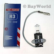 1 St. H3 12V 55W PX22s Sockel Halogen Glühlampe Birne Autolampe 12030 TEC-PARTS