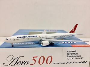 """Aero500 / Herpa Scale 1:500 Turkish Airlines Boeing 777-300ER """"Akdeniz"""" TC-JJK"""
