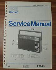 Radio 90AL270 Philips Service Manual Serviceanleitung