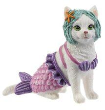 Beach Cat Kitten Figurine - Mermaid