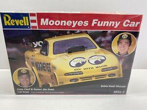Revell 1:24 Scale Okazaki Mooneyes Funny Car Sealed Boxed Model Kit No Reserve