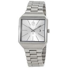 Calvin Klein Gentle Silver Dial Mens Watch K3L31166