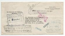Official used return to sender cover to New York