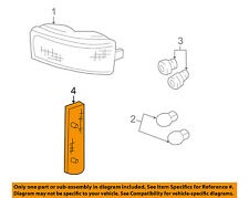 GM OEM Parking Light Lamp-Front-Reflector Right 5974342