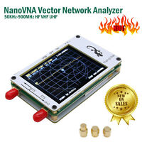 50KHz-900MHz NanoVNA Vector HF VHF UHF Antenna Network Analyzer 2.8 inch Screen