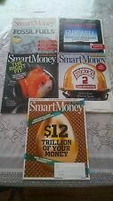 LOT of 5 SMART MONEY MAGAZINE 2012 (May - Sept.)