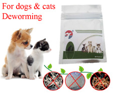 30 Tablets Dog Wormer Worming Tabs Dewormer Cat deworming in English Effective