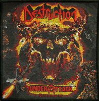 "DESTRUCTION AUFNÄHER / PATCH # 7 ""UNDER ATTACK"""