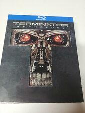Terminator Anthology Movies 1-4 Blu-ray, 2012, 5 Disc Set (093)