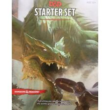 D&D Dungeons & Dragons RPG Starter Set-nuovi 5th Edition