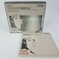 Wagner PARSIFAL 3 CD BOX (1989) VIRTUOSO Vittorio Gui Callas Kundry