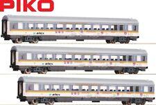 Piko H0 58676-S Personenwagen Alex 1./2. Klasse (3 Stück) - NEU + OVP