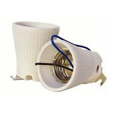 Casquillo portalámparas de cerámica para Bombillas / Lámparas (E40)