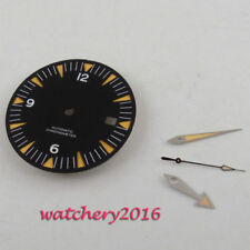 31Mm Parnis Sapphire glass Sterile Watch Dial + Hands for Eta 2824 2836 Movement