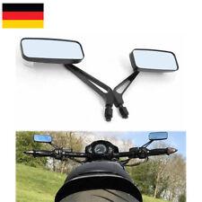 Motorradspiegel- Set (2 Stück) Classic schwarz CNC-gefräst Alu uni M8 M10 neu