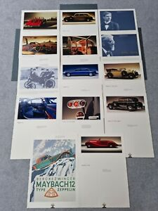 Maybach Fine Art Prints Poster Mounted Ft DS 8 Type Zeppelin/SW 38/62 VIP Set