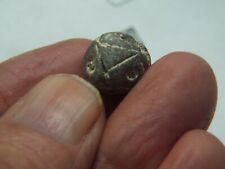 Rare Antique Primitive Pre -Columbian ceramic bead Maya/ Aztec 100-900 A.D P-1