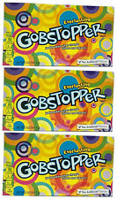 3 x Formally Wonka Everlasting Gobstopper Large Box 141.7g American Retro Sweets