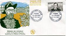 FRANCE FDC - 331 1242 2 PIERRE DE NOLHAC 13 2 1960