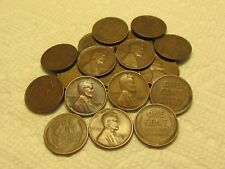 1/2 Roll Of 1933 D Lincoln Wheat Cents From Penny Collection