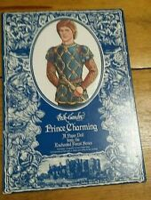 1986 Peck-Gandre Prince Charming Paper Doll Free Shipping