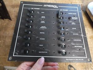 MARINE BOAT Regal Commadore 120 V DC/AC Panel  - USED