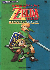 Legend Of Zelda Kamigami No Triforce & 4 Swords Guide Book (2003) Japan Import