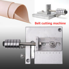 New Draw Gauge Professional Leather Strap Cutter Strip Belt Hand Cutting Tool #