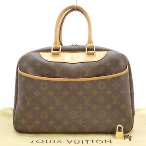 Authentic LOUIS VUITTON Deauville Hand Bag Monogram Canvas M47270 #S209008