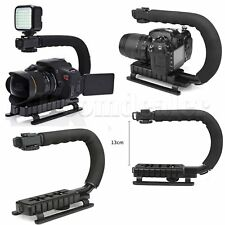 Handheld U Shape Stabilizer Bracket Grip for Camera DSLR Nikon Canon Sony &  LED