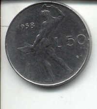 50 LIRE 1958 - RARA -