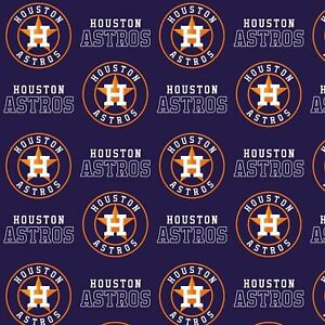 "Houston Astros-60"" Wide-Fabric Traditions-BTY"