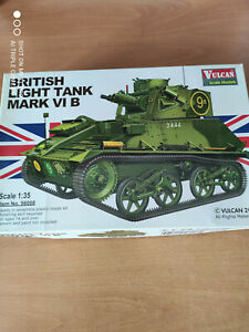 maquettes blindés 1/35 british light tank