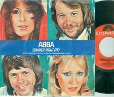 "ABBA - SUMMER NIGHT CITY ( DUTCH POLYDOR  2001610) 7""PS 1976"