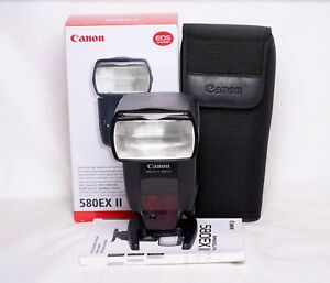 Canon Speedlite 580EX II TTL Flash